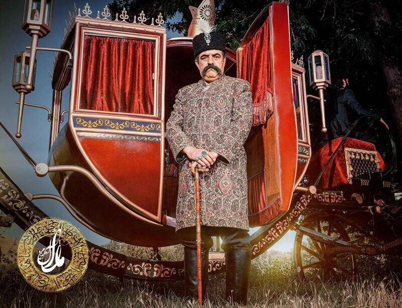 بازیگری که ناصرالدین شاه قاجار شد در شکارگاه/ عکس