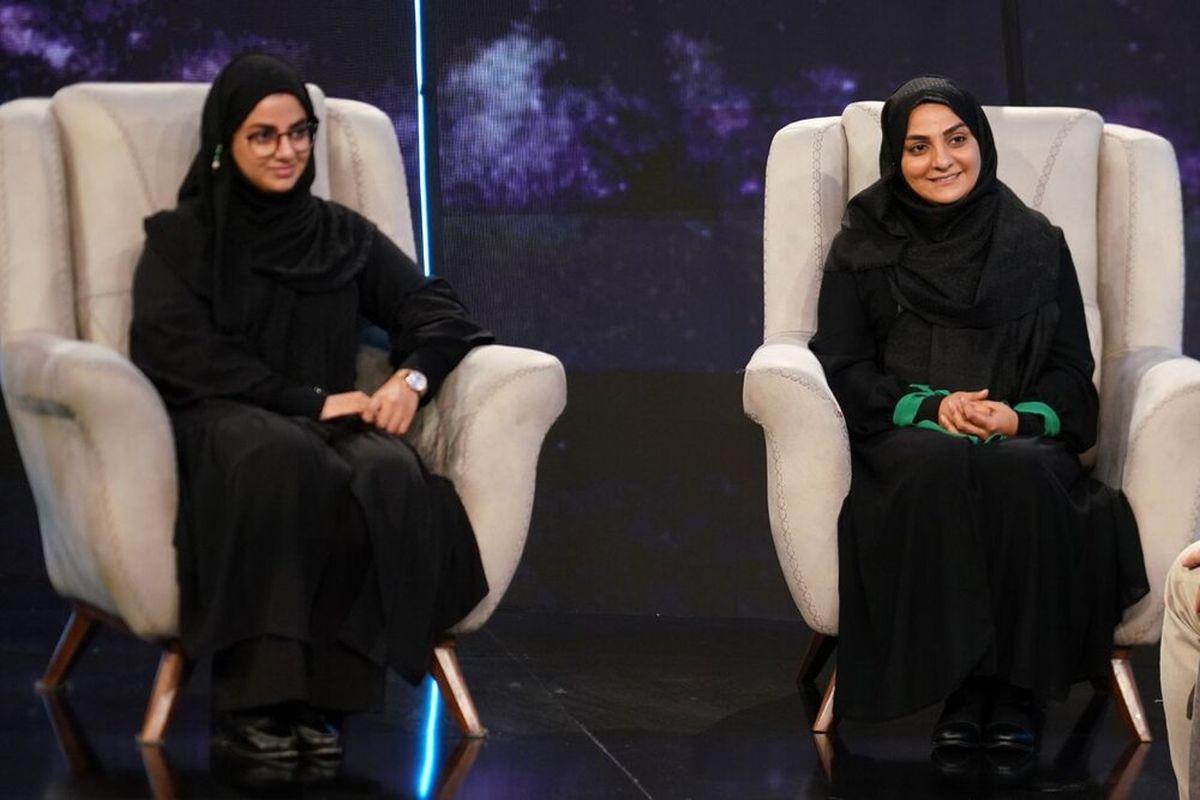 همسر و دخترِ زندهیاد علی سلیمانی در برنامه جاذبه
