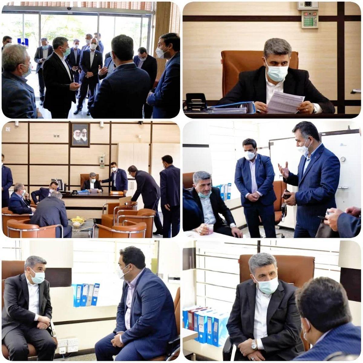 بازدید مدیرعامل بانک صادرات ایران از شعب استان کرمان