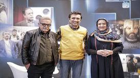 حمید لولایی و مریم امیرجلالی، بازیگران سریال «خانه به دوش» در شبکه آیفیلم در برنامهای جدید