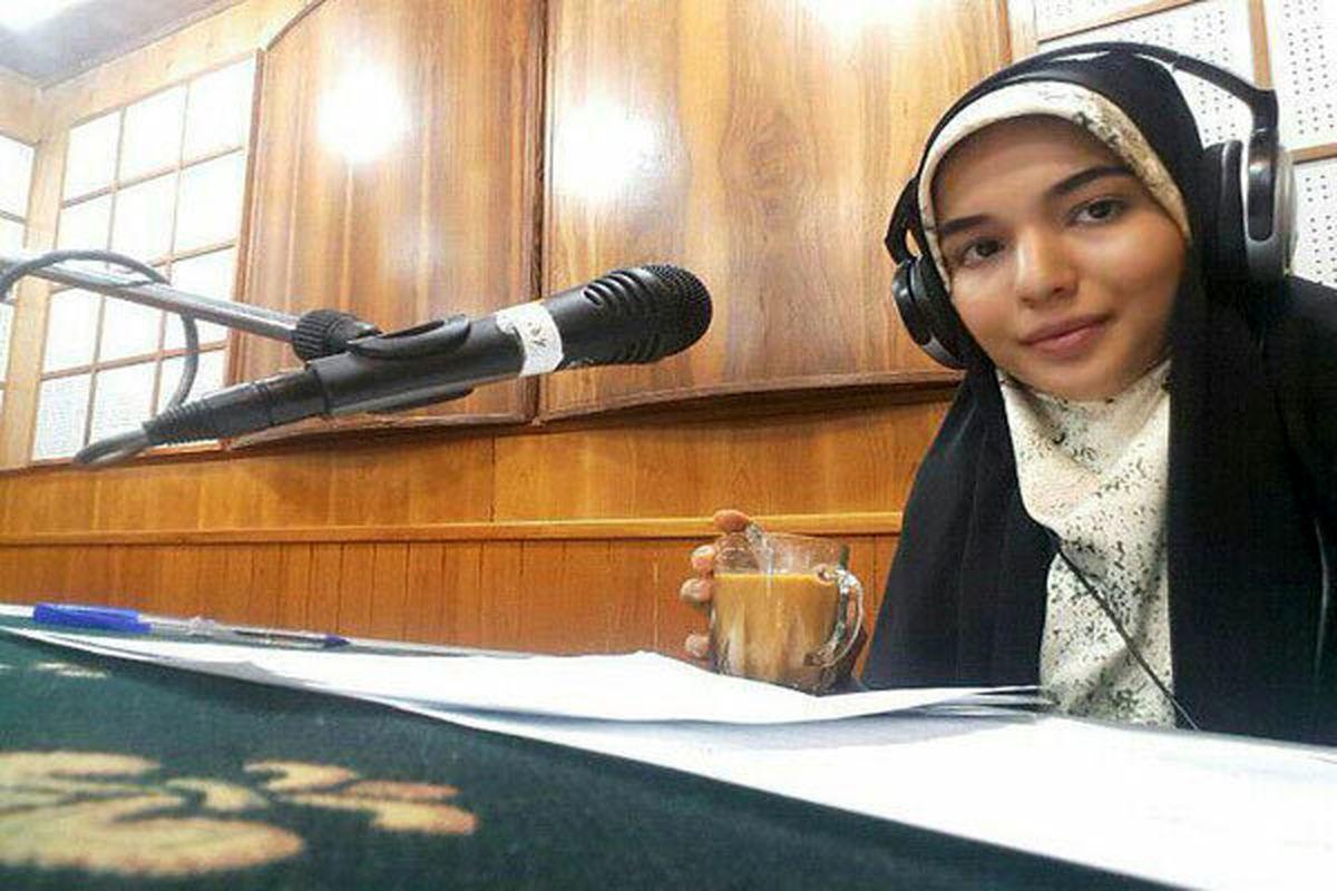 حرف های فاطمه امجدیان در رابطه با لزوم مشارکت در انتخابات