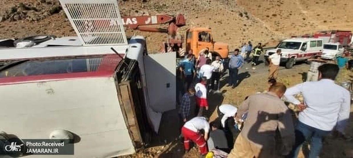 جزئیاتی از سفر خبرنگاران محیط زیست و واژگونی اتوبوس/ اطلاعیه سازمان محیط زیست