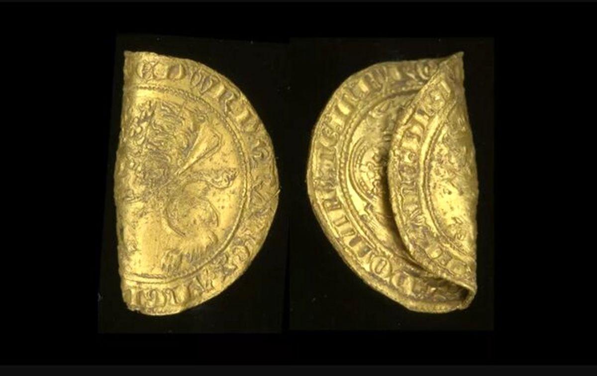کشف سکههای متعلق به دوران طاعون