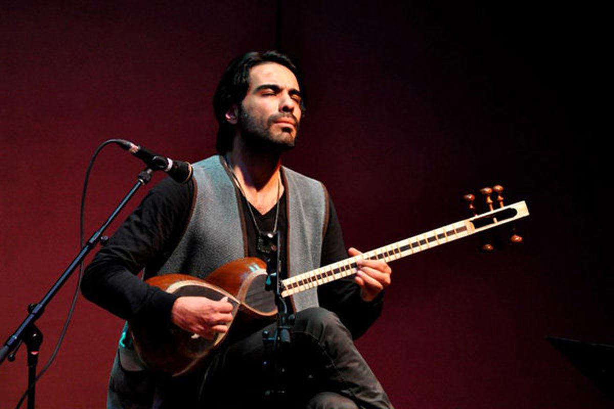 قمصری در بیستون از موسیقی کرمانشاه نواخت