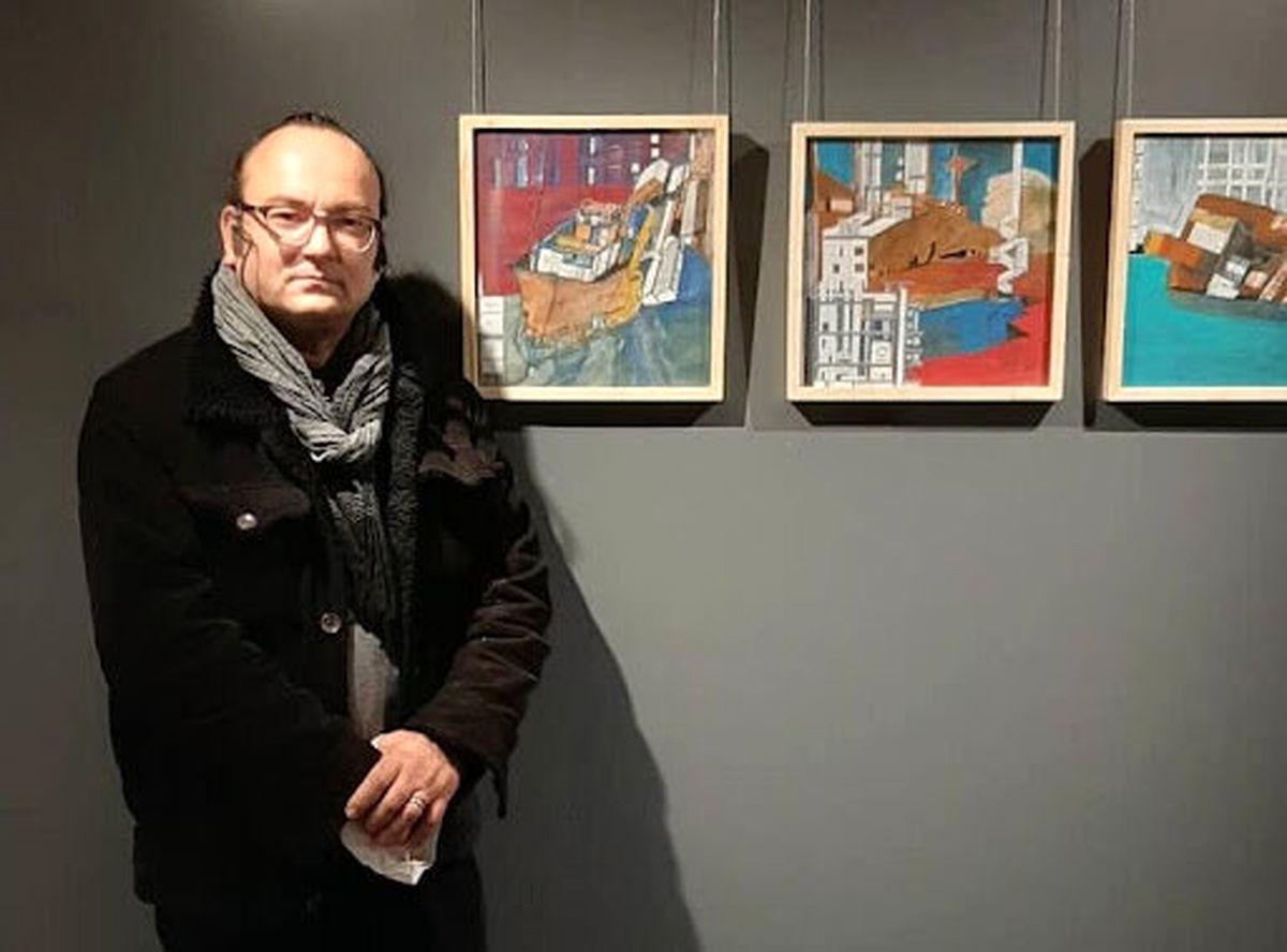 درگذشت یک هنرمند نقاش جوان