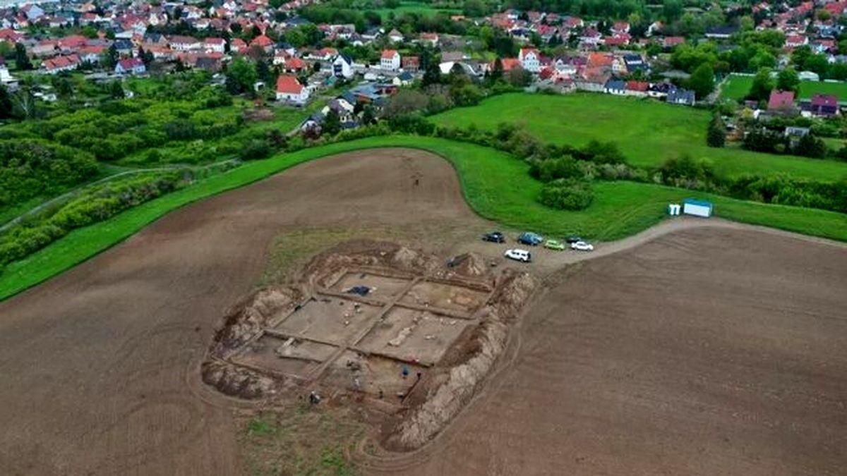 کشف بقایای یک کلیسای تاریخی در آلمان