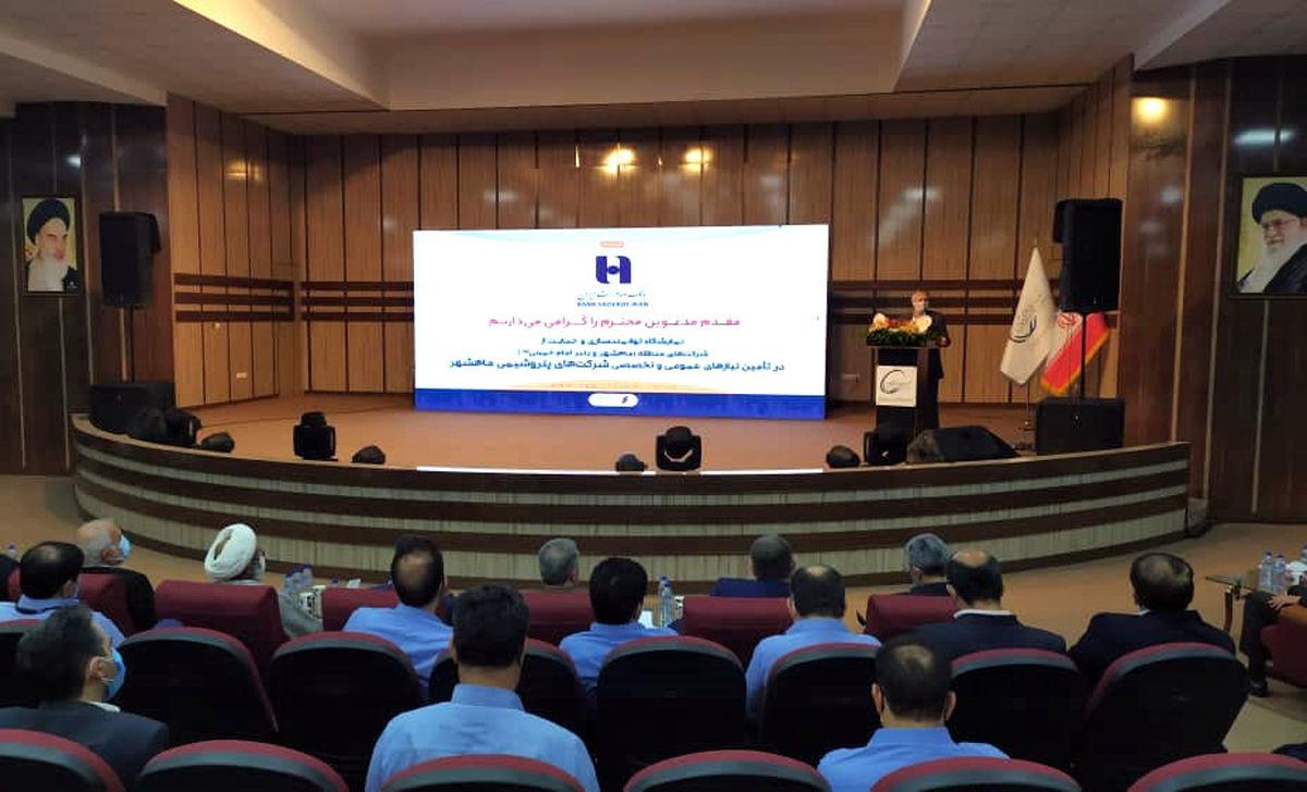 آغاز نمایشگاه شرکتهای پتروشیمی ماهشهر و بندر امام با حضور بانک صادرات ایران