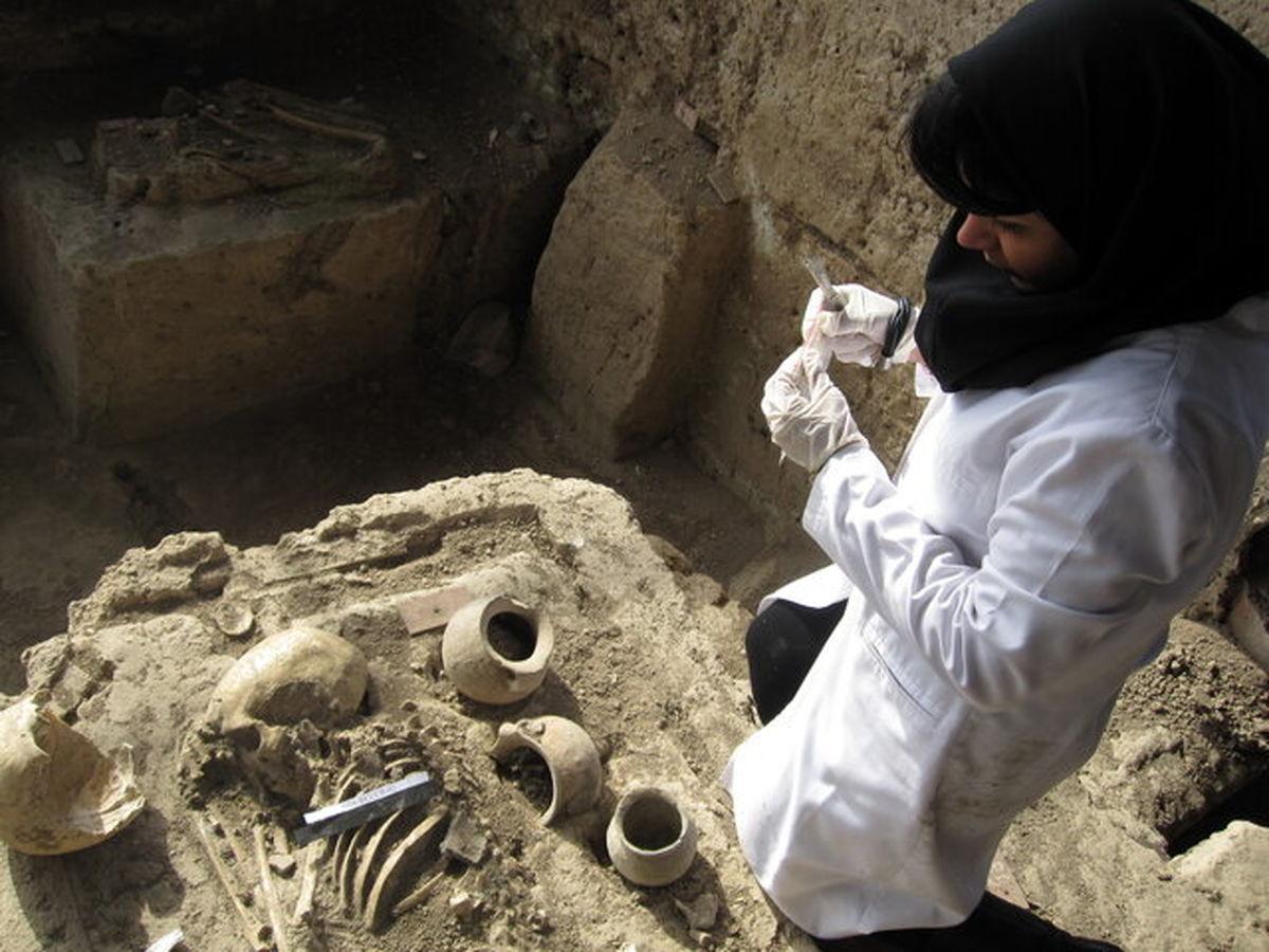 مطالعات ژنتیک روی استخوانهای باستانی