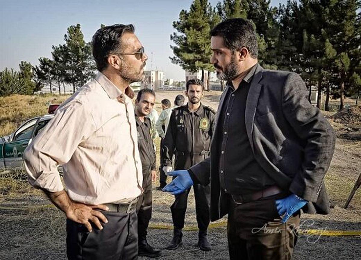 پایان فیلمبرداری فیلم پلیسی «مواجهه»/ عکسی از رحیم نوروزی و الهه حسینی