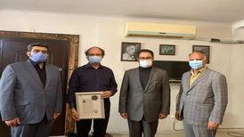 علی جهاندار و شریفیان گواهینامه درجه یک هنری گرفتند