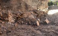 کشف یک سازه قدیمی در بافت تاریخی شیراز
