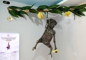 قابهایی تماشایی و دیدنی از مجسمه های منحصر به فرد باغ موزه فلزی ایران/ 30 حیوان مصنوعی از ضایعات
