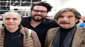 واکنش پرویز پرستویی به خبر درگذشت عزتالله مهرآوران/ عکس