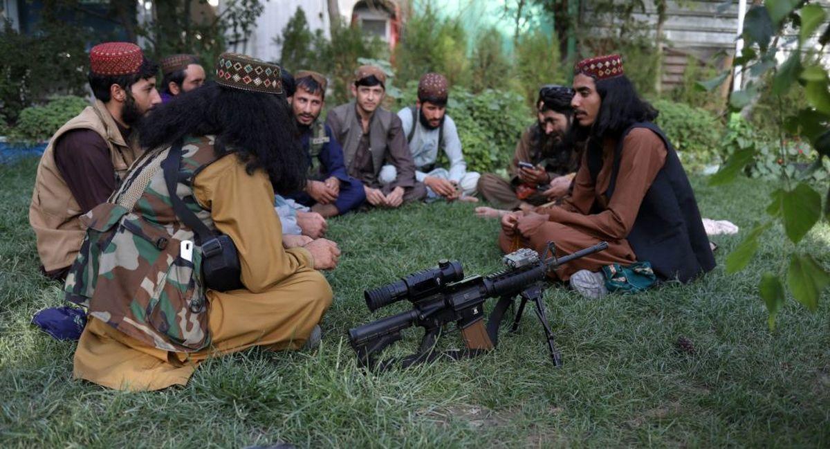 آواز و رقص سنتی نیروهای طالبان + فیلم