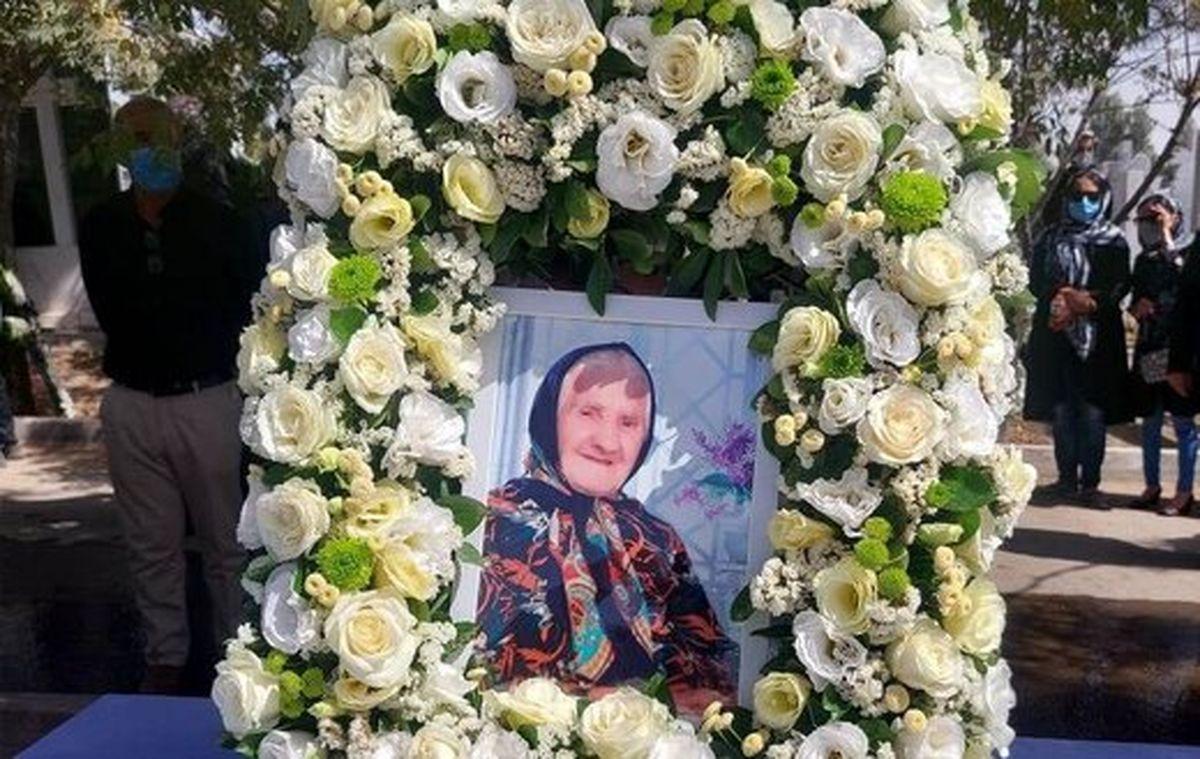 مادر شهید ویگن گاراپیدی دعوت حق را لبیک گفت